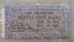 Merrill Louis Kvaall