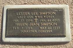 Helen Jean Simpson