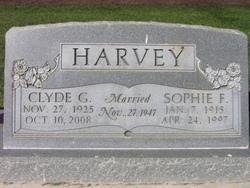 Sophie <I>Fink</I> Harvey