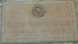 Frances <I>Thompson</I> Philpott