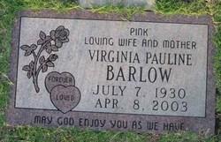 Virginia Pauline <I>Brantley</I> Barlow