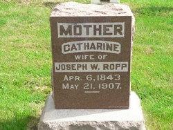"Catherine ""Kate"" <I>Ropp</I> Gerber"