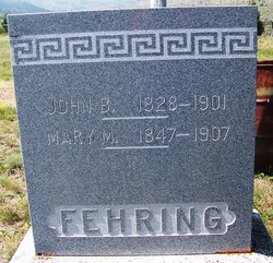 Mary M <I>Meyers</I> Fehring