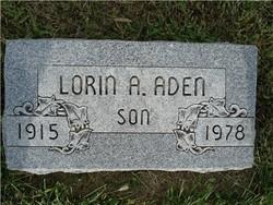 Lorin Adolph Aden