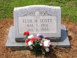 Elsie M Scott