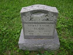 Violet Vastie Todd