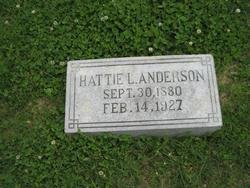 Hattie Lenore <I>Puryear</I> Anderson