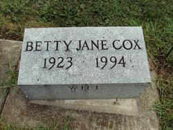 Betty Jane Cox