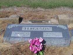Martha Ellen <I>Gordon</I> Ferguson