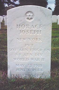 PVT Horace Joseph