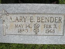 Mary <I>Eckart</I> Bender