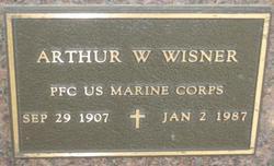 PFC Arthur W Wisner