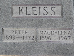 Magdalena 'Lena' <I>Stenger</I> Kleiss