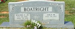 "Walter Cleaton ""Dub"" Boatright, Jr"