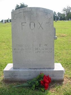Thirsia A. <I>Dockery</I> Fox