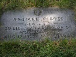 Lieut Richard C Boss