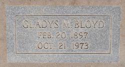 Gladys M. Bloyd