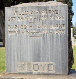 Elizabeth Jane Bloyd