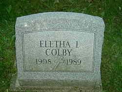 Eletha Ida <I>Cosner</I> Colby
