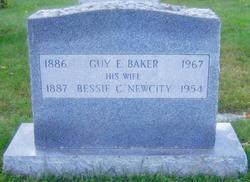 Bessie Calista <I>Newcity</I> Baker