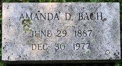 Amanda <I>Duncan</I> Bach