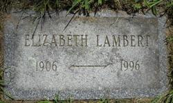 Elizabeth May <I>Lantz</I> Lambert