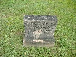 Carrie Bell <I>Hayden</I> Davidson