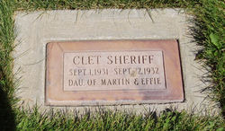 Clet Sheriff