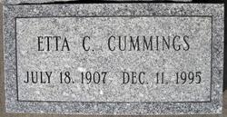 Etta Bernice <I>Coughlin</I> Cummings