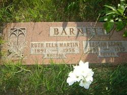 Ruth Ella <I>Martin</I> Barnett