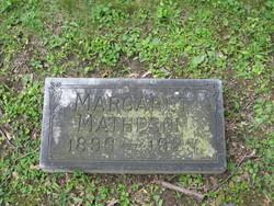 Margaret Matheson