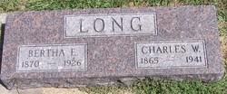 Bertha Ellen <I>Drake</I> Long
