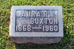 Laura Sprague <I>Robins</I> Buxton