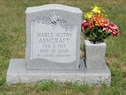 Mable <I>Autry</I> Ashcraft