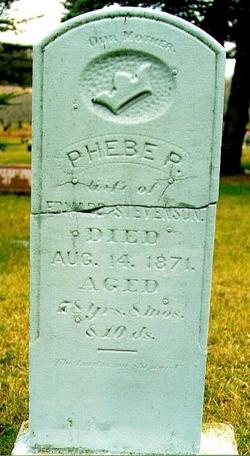 Phebe Pratt <I>Spafford</I> Stevenson