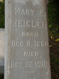 Mary Emma <I>Hammer</I> Zeigler