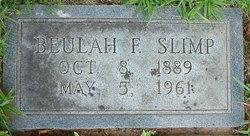 Beulah F. Slimp