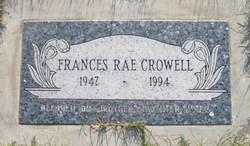 Frances Rae Crowell