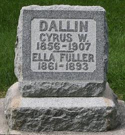 Ella Jane <I>Fuller</I> Dallin