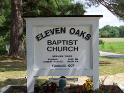 Eleven Oaks Baptist Church Cemetery