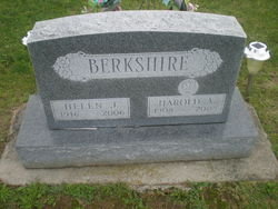 Helen J <I>Wallace</I> Berkshire