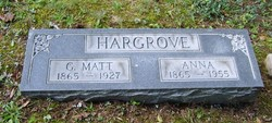 "George Madison ""Matt"" Hargrove"