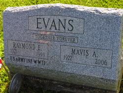 Raymond E Evans