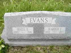 Harold Irvin Evans