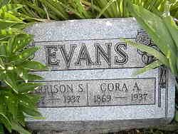 Cora Alice <I>Reeder</I> Evans