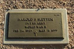 Harold S Sletten