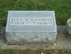 Alice Belle <I>Bently</I> Ballinger