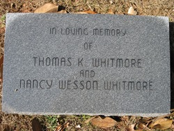 Nancy Ann <I>Wesson</I> Whitmore