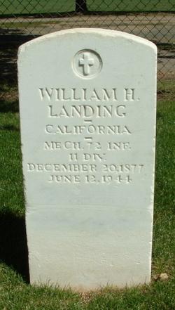 William H Landing