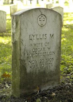 Lyllis M. Schoeberlein